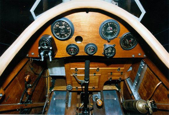 Cockpit view - LePere-Lusac